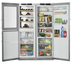 Liebherr - Fridge-freezer-wine cooler, side-by-side