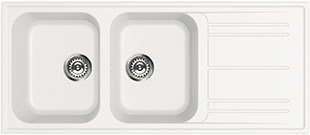Smeg double bowl sink