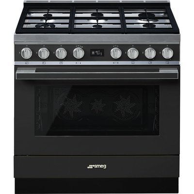 Smeg - 90cm  gas/electric stove