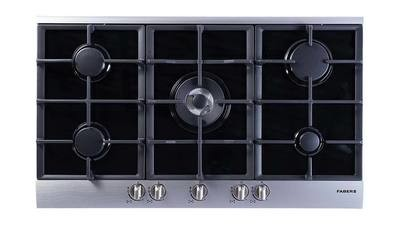 Faber - 90cm gas on glass hob