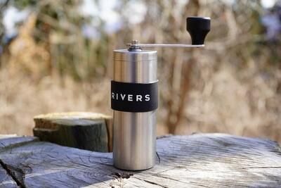 日本RIVERS Coffee Grinder GRIT便攜手搖磨豆機