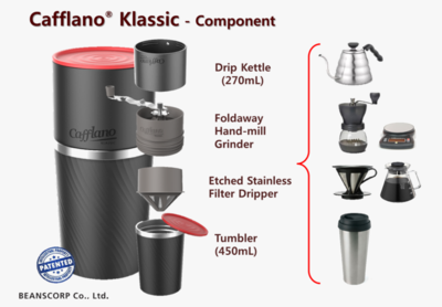 Cafflano Klassic All-In-One Pour over coffee maker