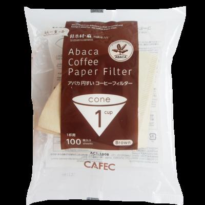 Cafec AC1-100B 三洋麻質濾紙