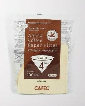 Cafec AC4-100B 三洋麻質濾紙