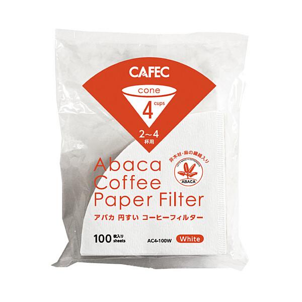 Cafec AC4-100W 三洋麻質濾紙