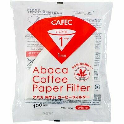 Cafec AC1-100W 三洋麻質濾紙
