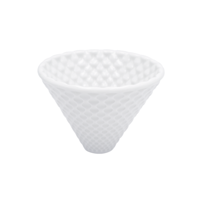 LOVERAMICS BREWERS - COFFEE DRIPPER - STRONG (White)