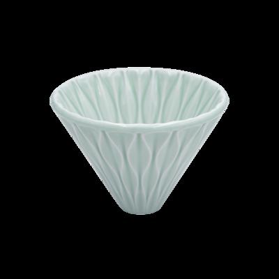 LOVERAMICS BREWERS - COFFEE DRIPPER - SMOOTH (Celadon Green)
