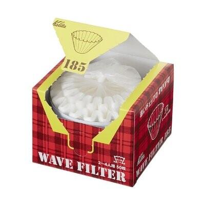 Kalita 185 Wave Filter Paper (50W)
