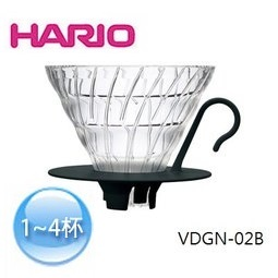 HARIO VDGN-02B 玻璃濾杯 (1-4杯用)