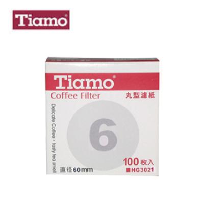 Tiamo HG3021 6號丸型濾紙 Coffee Filter