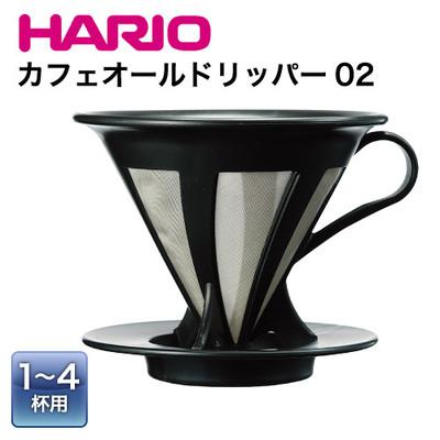 HARIO CFOD-2B V60免濾紙環保濾杯 (1-4杯用)
