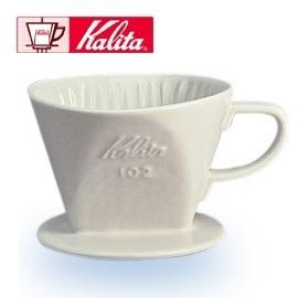 Kalita 102 傳統陶製三孔濾杯 (白色 - 1-4杯用)