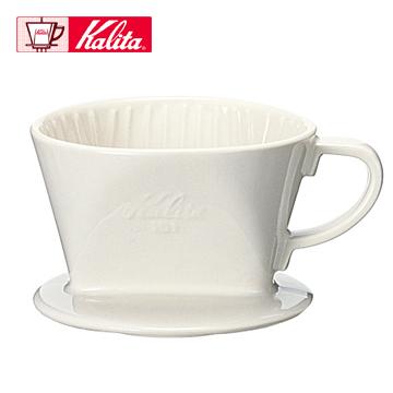 Kalita 101 傳統陶製三孔濾杯 (白色 - 1-2杯用)