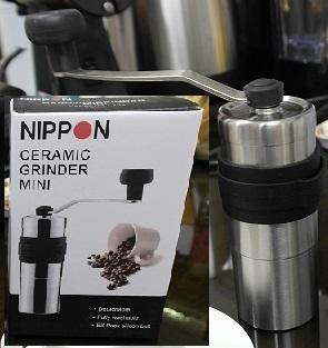NIPPON 20g Mini 手搖式隨行磨豆器 (陶瓷磨盤)
