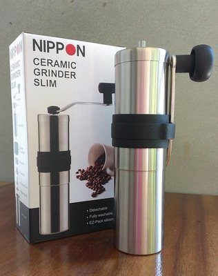 NIPPON Slim 30g 手搖式隨行磨豆器 (陶瓷磨盤)