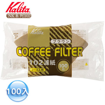 Kalita 102 三孔濾杯專用濾紙 (100入) Coffee Paper Filter