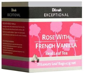 Dilmah 法式香草玫瑰茶 (三角立體包 )
