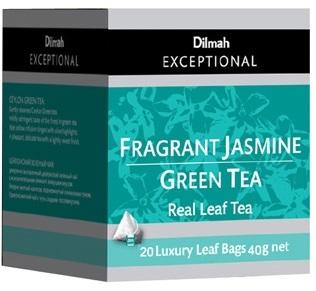 Dilmah 帝瑪茉莉綠茶 (三角立體包 )
