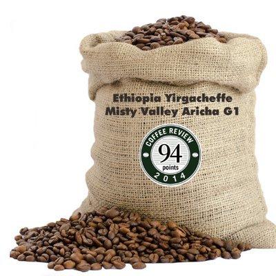 掛耳 衣索比亞(埃塞俄比亞) 耶加雪菲 霧谷 艾瑞莎 G1 (Ethiopia Yirgacheffe Misty Valley Aricha G1) ~黑金烘焙~