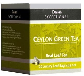 Dilmah 帝瑪錫蘭綠茶 (三角立體包 )