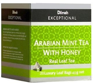 Dilmah 帝瑪阿拉伯薄荷蜂蜜茶 (三角立體包)
