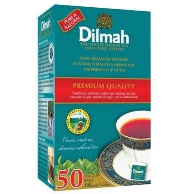 Dilmah 錫蘭紅茶 (2g x 50包/盒 )