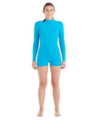 Body Glove Women's Smoothie 2mm Back-Zip L/A Springsuit