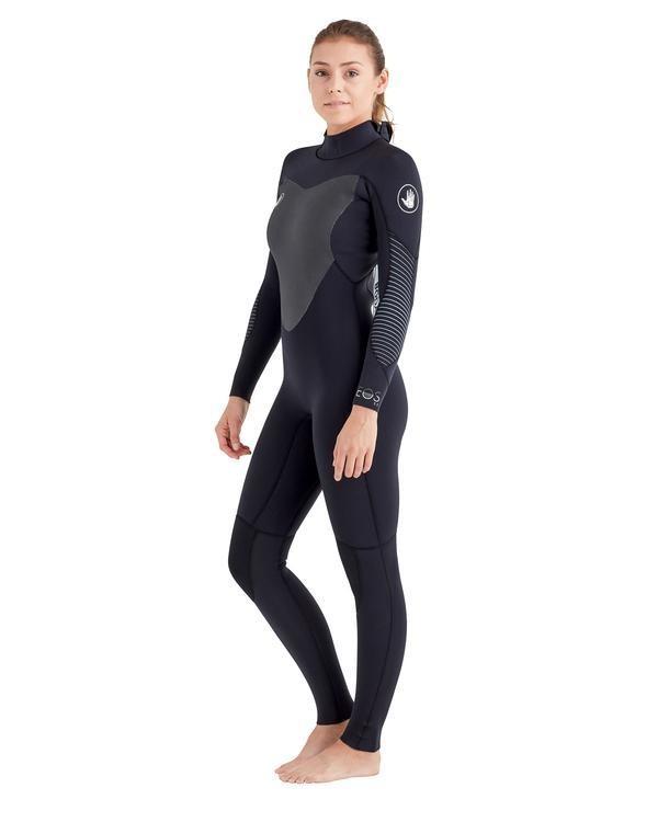 Body Glove Women's EOS back zip 3/2mm fullsuit