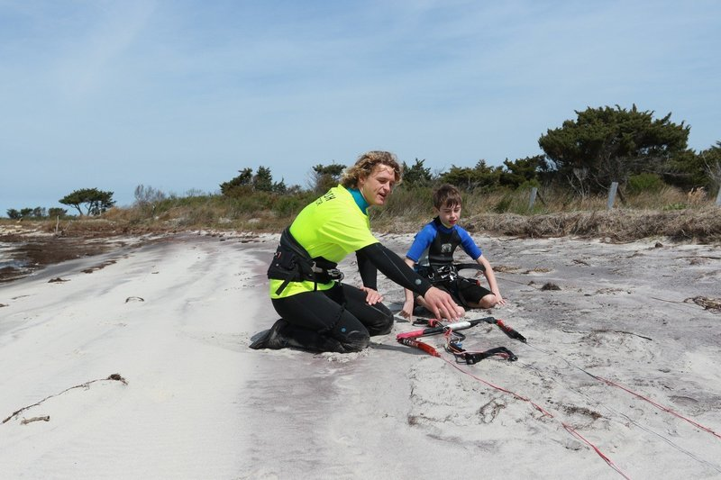 Group Kiteboarding Lessons