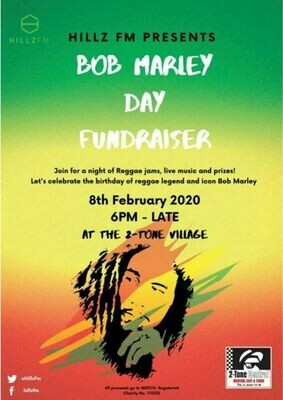 Bob Marley Ticket (1 x Admission)