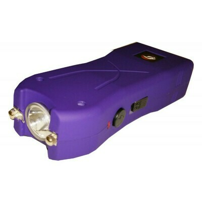 Purple 20 Million Volt Stun Gun with Safety Pin