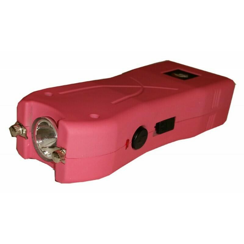 Pink 20 Million Volt Stun Gun with Safety Pin