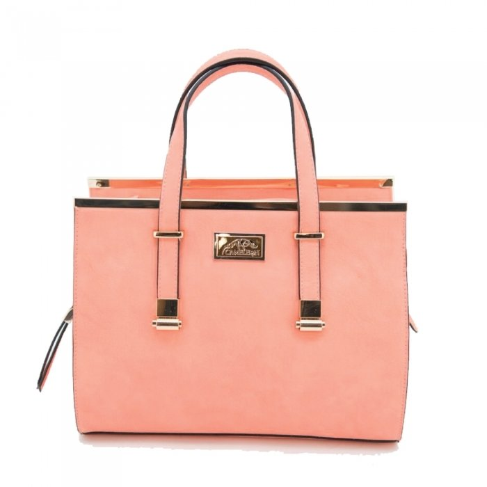 CORA CONCEALED CARRY PURSE: CORAL