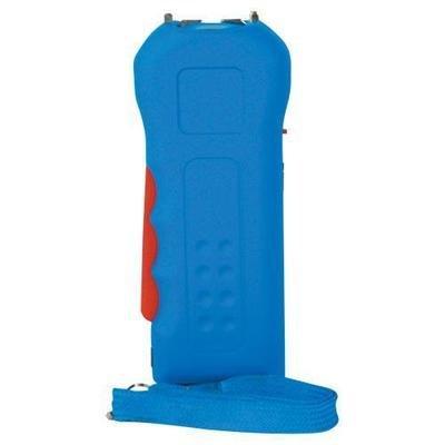 Trigger 18,000,000 Blue Stun Gun Flashlight with Disable Pin