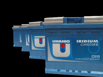 Batteria Uranio 60Ah