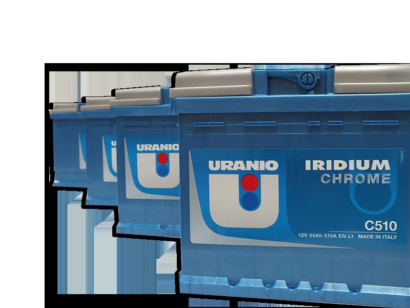 Batteria Uranio 80Ah