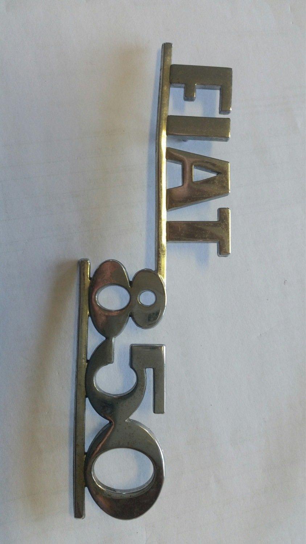 Logo Fiat 850