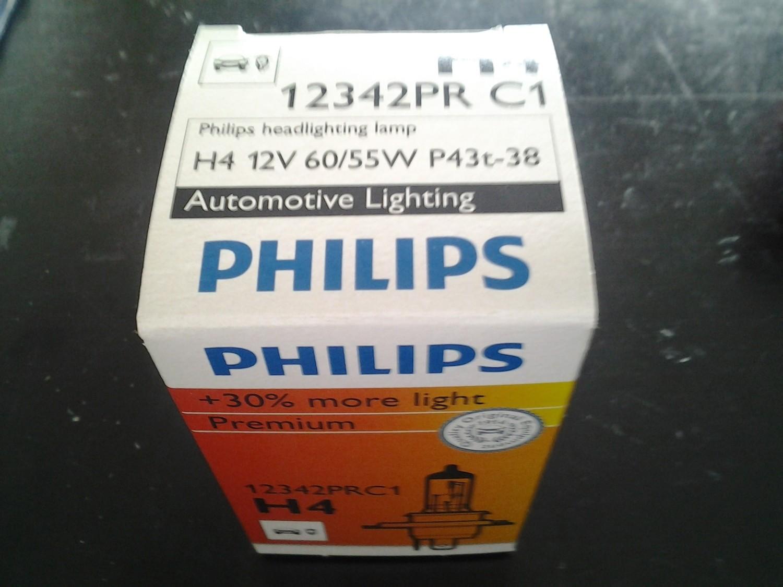 Lampadina Philips Vision Premium H4