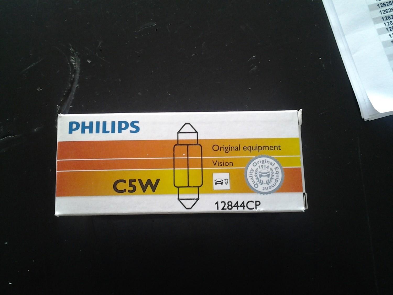 Lampadina Philips C5W Vision