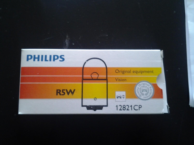 Lampadina Philips R5W