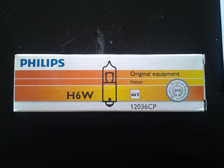 Lampadina Philips H6W