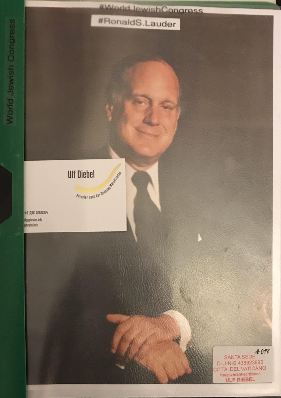 World Jewish Congress Ronald Lauder