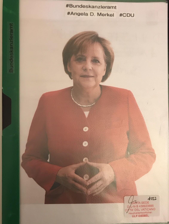 Bundeskanzlerin Angela Merkel - CDU