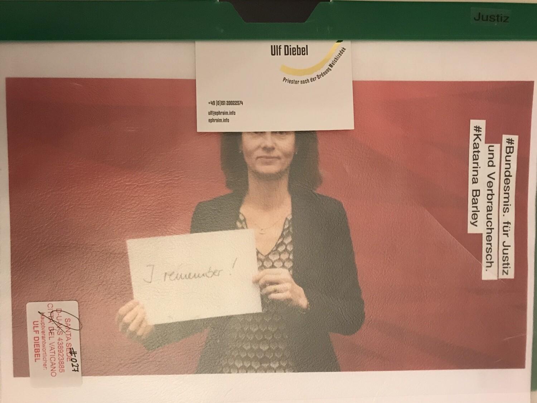 Bundesministerin für Justiz und Verbraucherschutz Katarina Barley