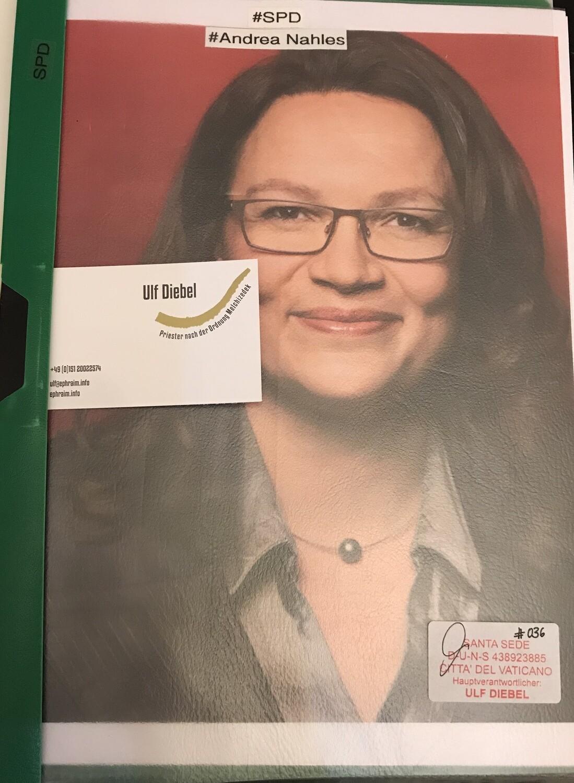 SPD Politikerin Andrea Nahles