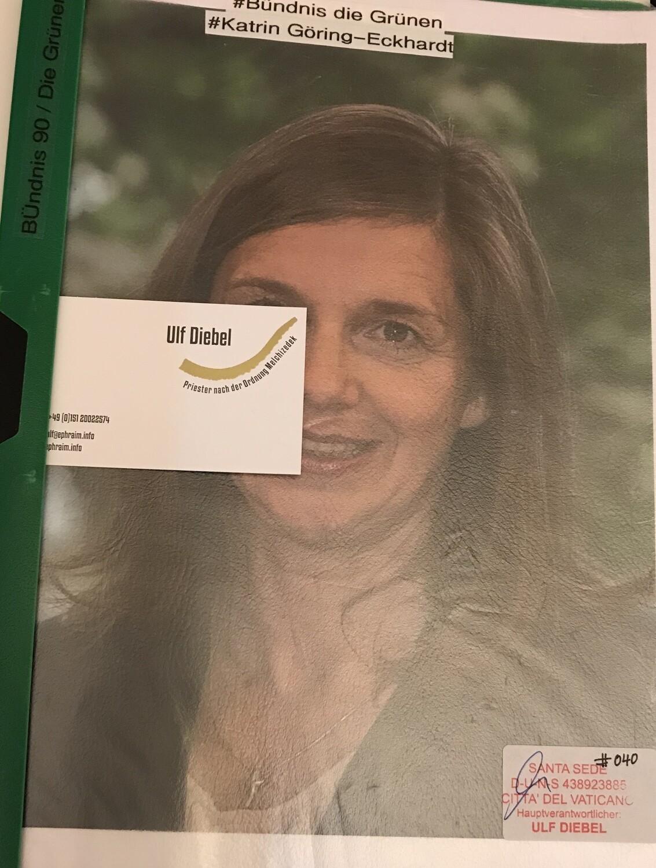 Bündnis 90 l Die Grünen - Politikerin Katrin Göring-Eckhardt