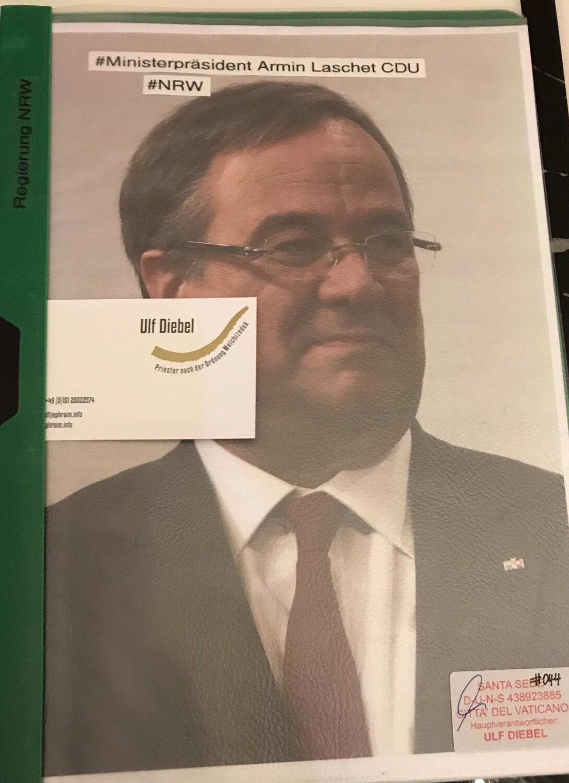 Ministerpräsident der CDU Armin Laschet Nordrhein-Westfalen