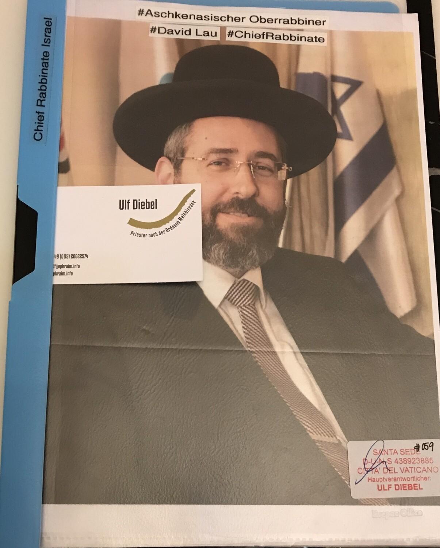 Aschkenasischer Oberrabbiner in Israel David Lau