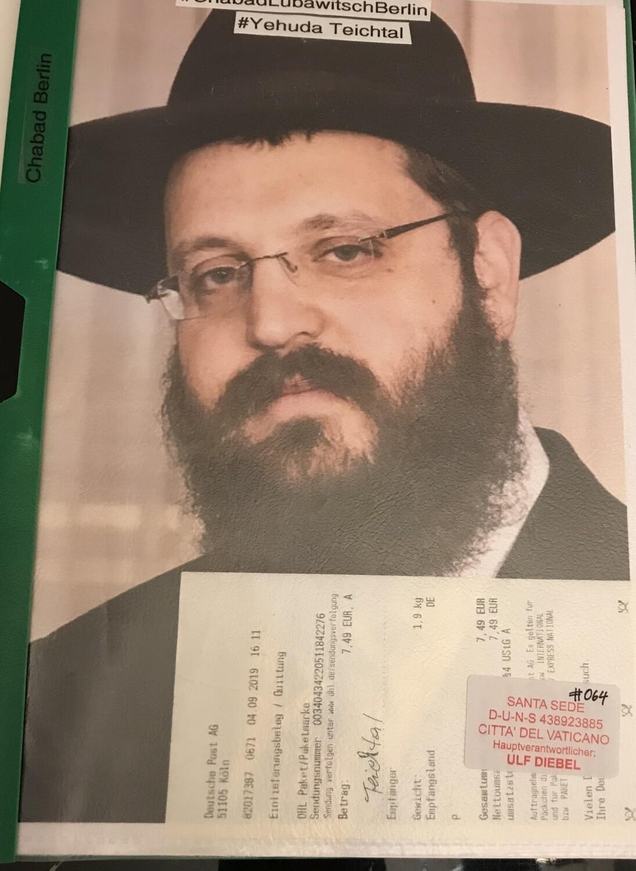 Chabad Lubawitsch Berlin Yehuda Teichtal